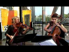 The Ragazze Quartet - Ludwig von Beethoven/ from: theme with variations - opus 131