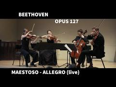 Dudok Kwartet - Beethoven String Quartet in E-flat major op. 127 - I Maestoso - Allegro