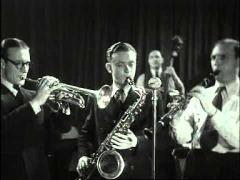 The Ramblers in opnamestudio (1941)